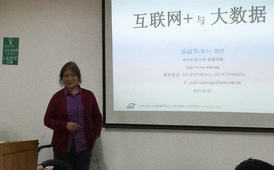 蔡淑琴:华中科技大学教授