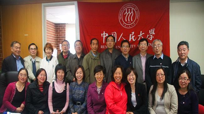 中国人民大学EMBA校友会工作交接会议成功举行