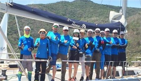 武汉大学EMBA帆船协会首次征战司南杯大帆船比赛喜获第四!