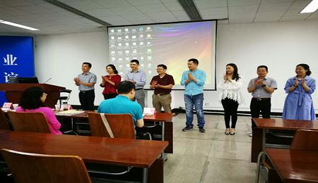 电子科技大学EMBA2017年学位论文答辩顺利完成