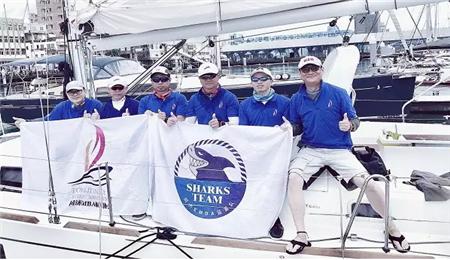 同济大学EMBA航海协会蓝鲨帆船队再获佳绩