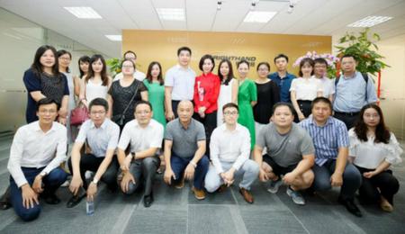 上海财经大学EMBA投融资俱乐部校友企业参访活动