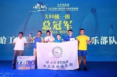 哈工大EMBA水上运动俱乐部队首秀深圳大鹏杯帆船赛完美收官
