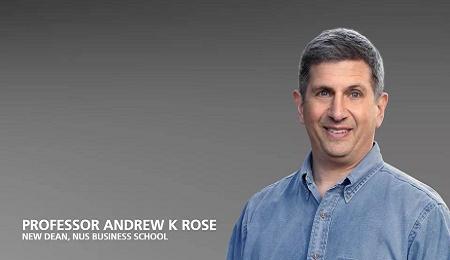 著名经济学家罗安著(AndrewRose)即将接任新加坡国立大学商学