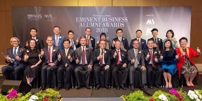 2018新加坡国立大学商学院杰出校友奖全名单