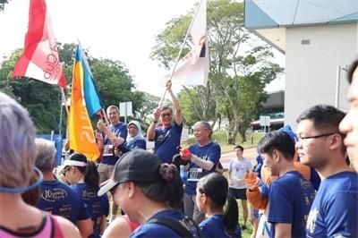 第十届 Bizad Charity Run:新加坡总统与您一起欢乐跑
