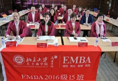 北大汇丰EMBA1415班英国游学