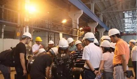 南京理工大学EMBA2016/2017级参访杭汽轮集团