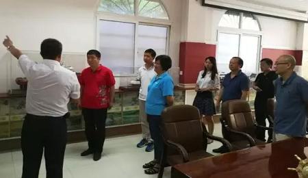 中山大学EMBA参访珠海市琛龙船厂有限公司