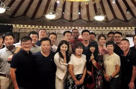 天津大学2016级EMBA北京班8月狂欢晚宴