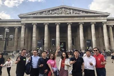 复旦大学EMBA探访大英博物馆