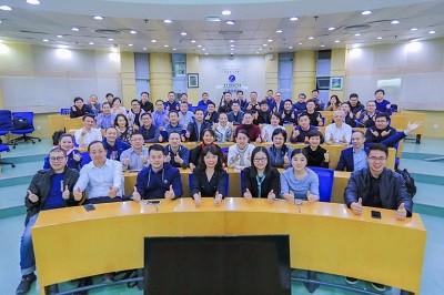 """清华大学EMBA-18A班爱月谈""""--从互联网到智能化的企业再造"""