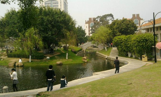 厦门大学校园实景