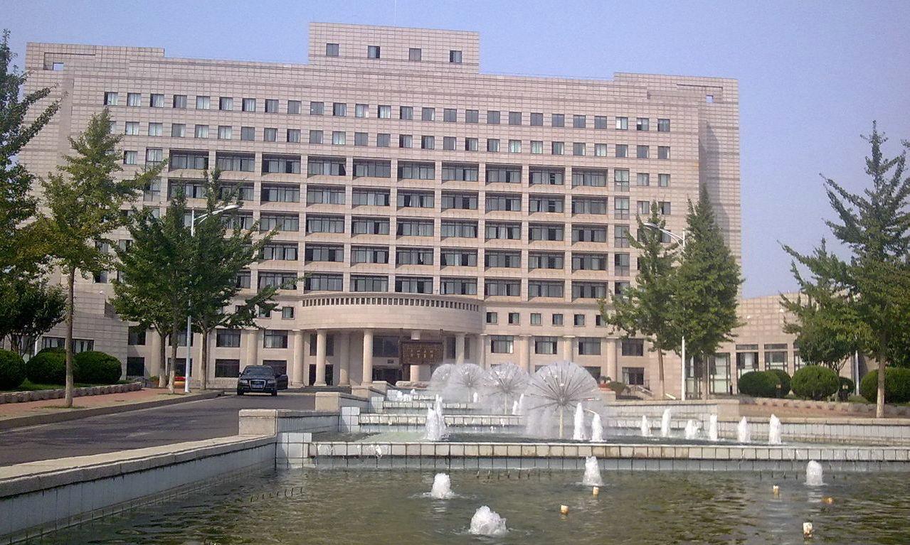 东北财经大学校园喷泉