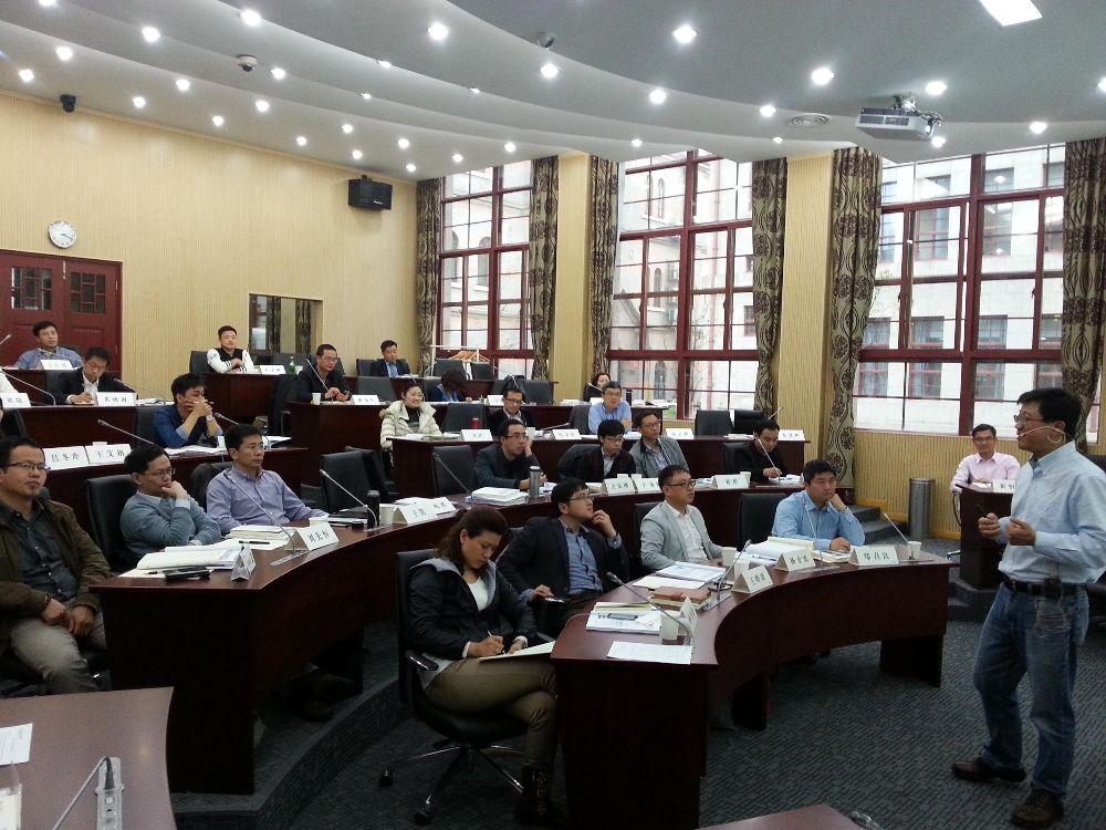 上海交通大学EMBA上课图集