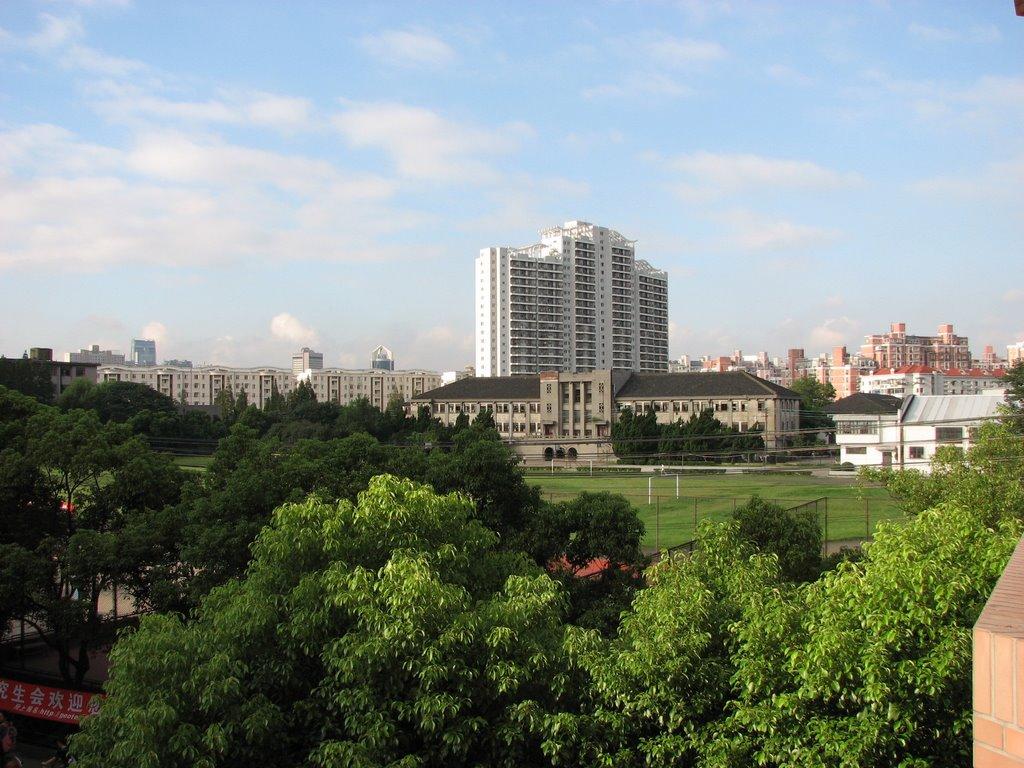 上海财经大学校园实景-校园实景