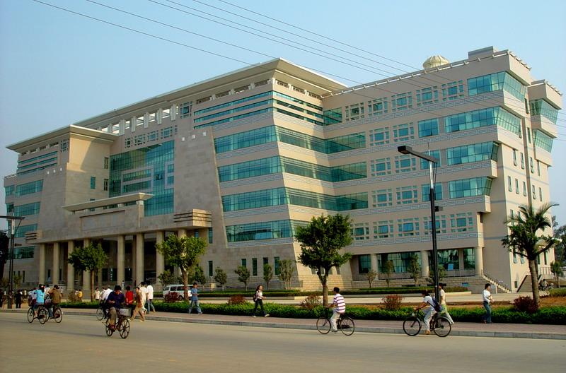 广西大学校园实景