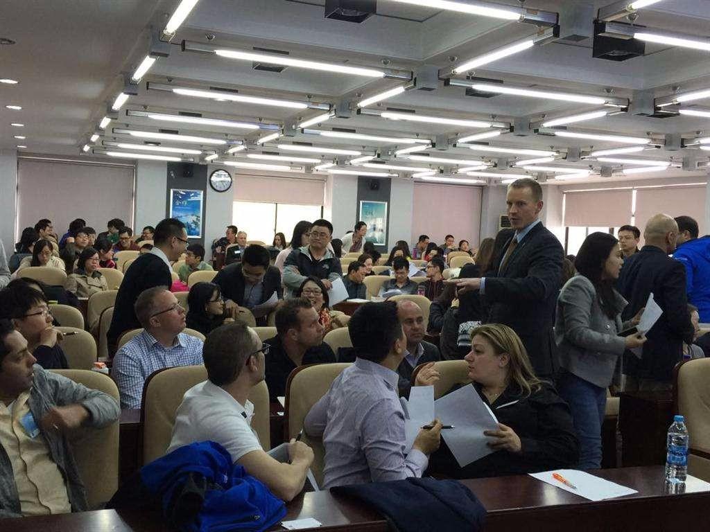 北京交通大学EMBA课堂