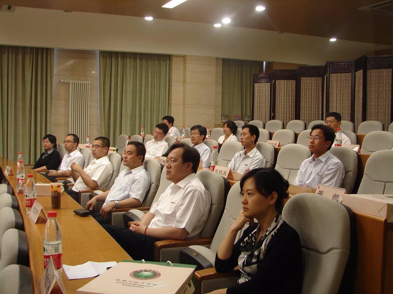 北京理工大学EMBA上课图集-
