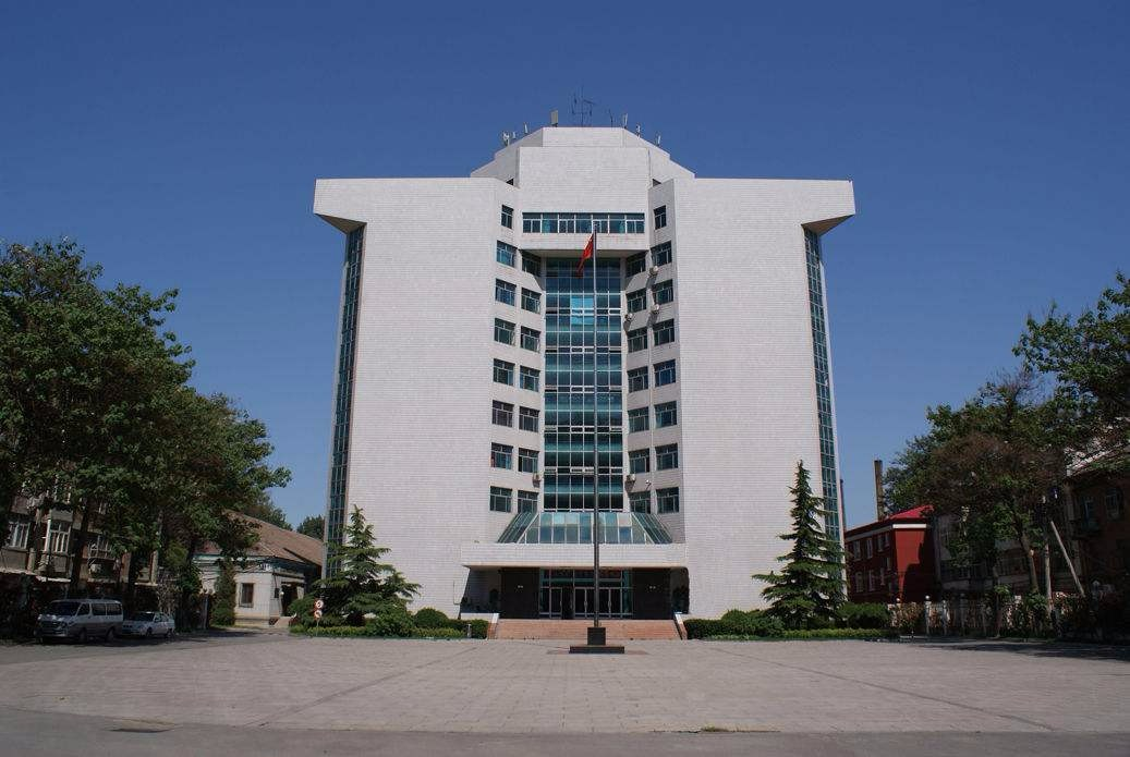 北京科技大学校园风景