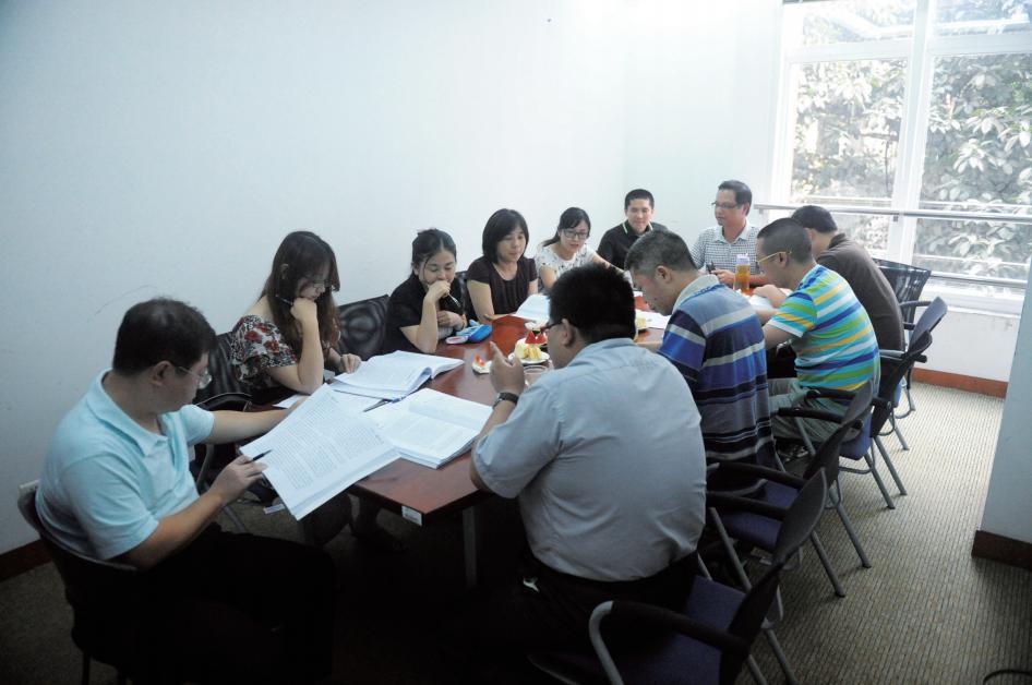暨南大学EMBA《项目管理》课程上课图集-