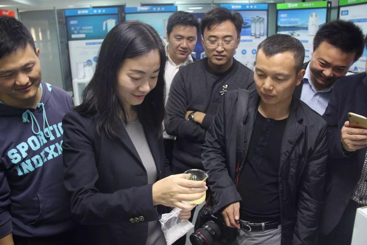华中科技大学EMBA16秋学员到格林森参观学习-华中科技大学EMBA16秋学员到格林森参观学习
