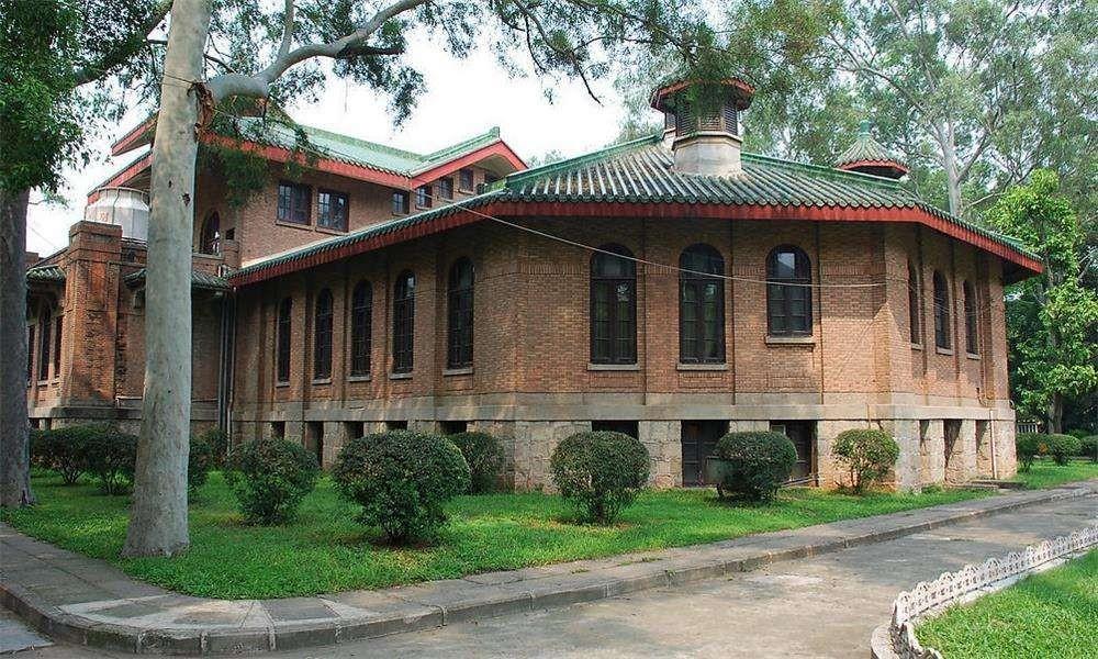 中山大学校园实景-