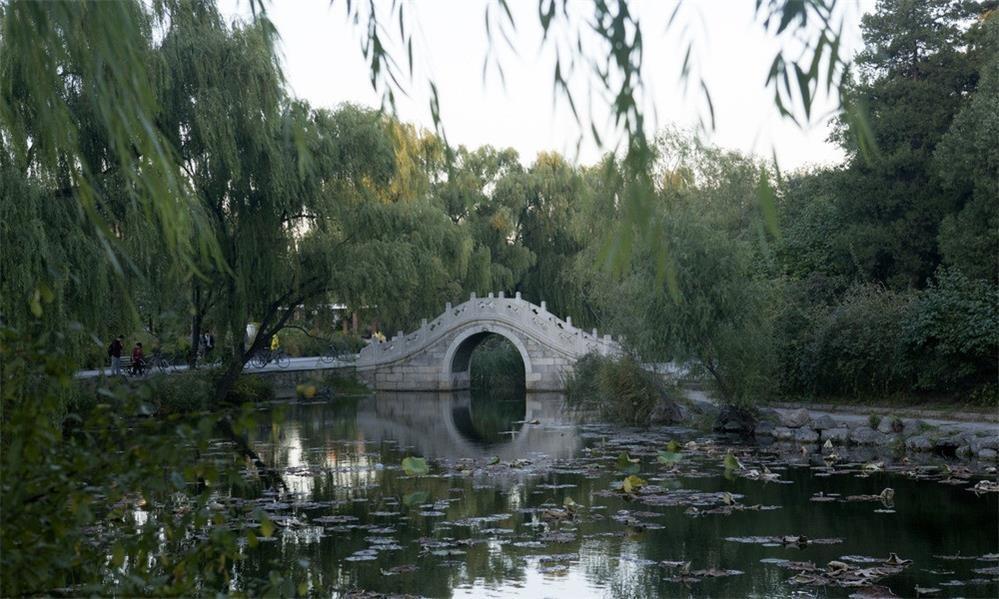 清华大学校园实景-
