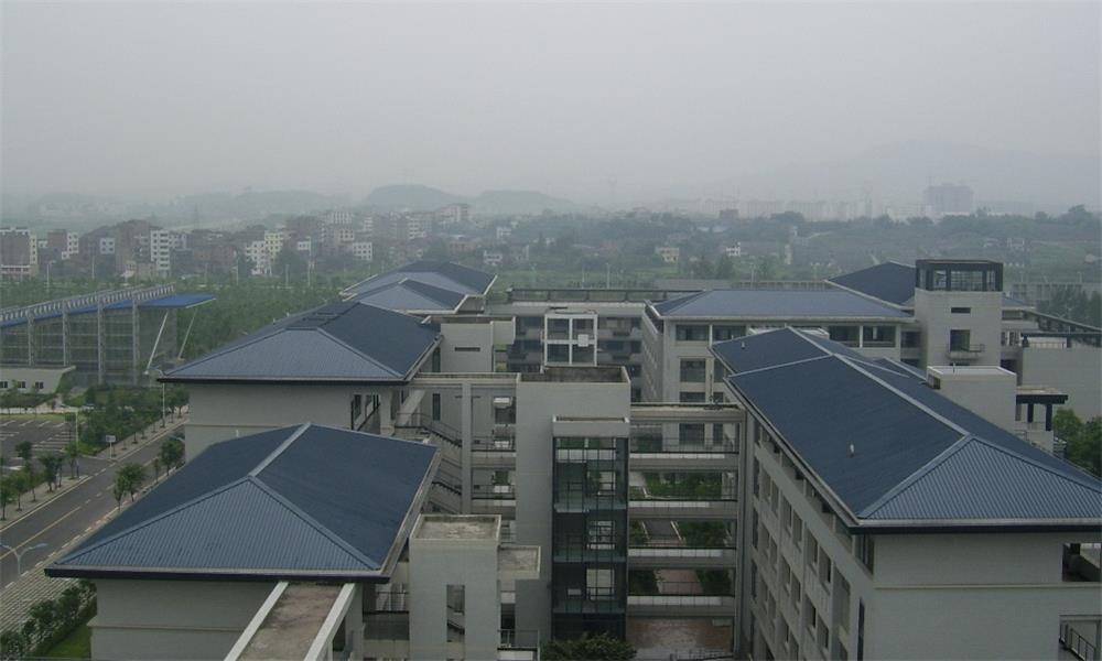 重庆大学校园实景-