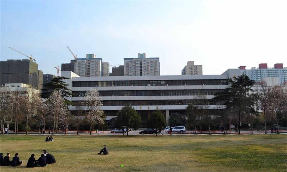 西北大学校园实景