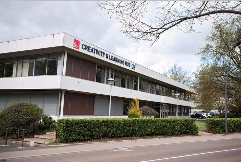 北京邮电大学-里昂大学合作办学校园风景
