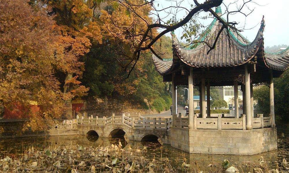 湖南大学校园实景-