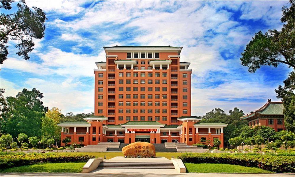 华南理工大学校园实景-