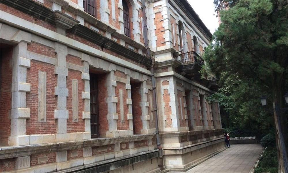 云南大学银杏道-校园风景
