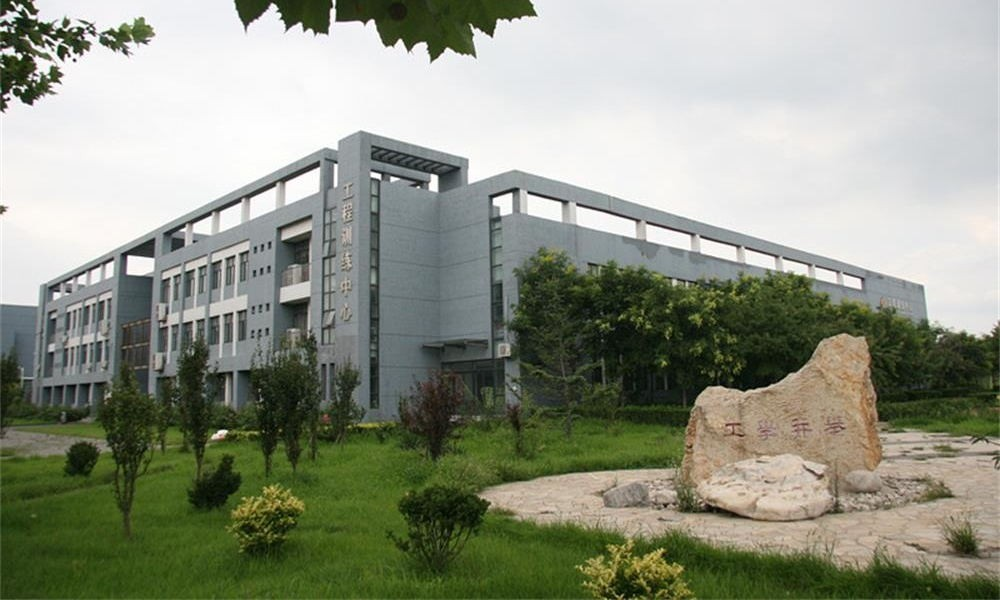 河北工业大学校园实景-河北工业大学校园实景2