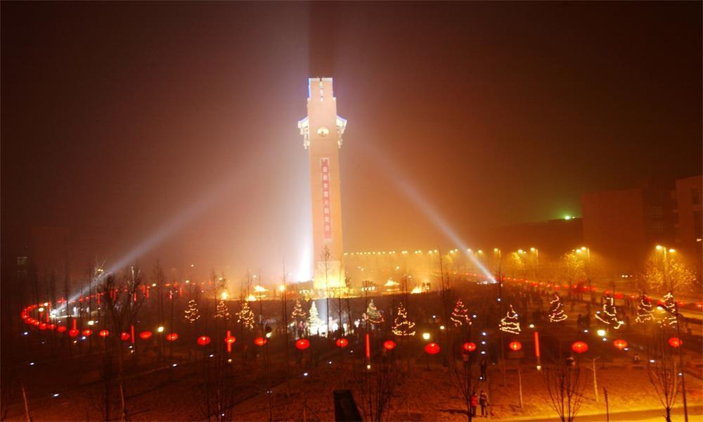 郑州大学校园实景-校园风景