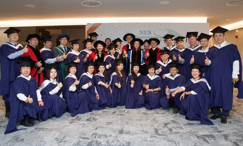 新国大商学院2018年毕业典礼
