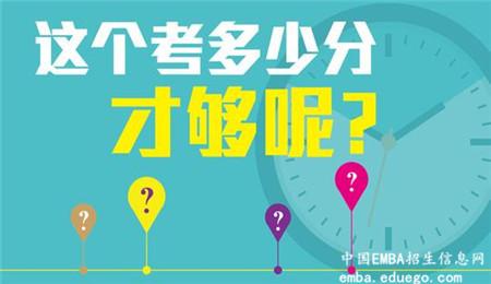 广西大学EMBA复试分数线,广西大学EMBA