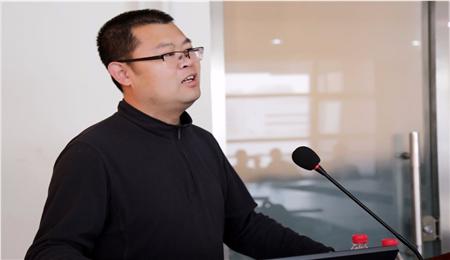 北京科技大学EMBA王喜文老师讲话,北京科技大学EMBA