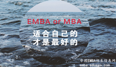 你更适合报读EMBA还是MBA