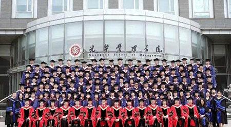 吴奇隆北业大EMBA毕业