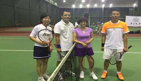中大EMBA网球队9月出征北京,再创辉煌!