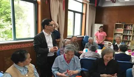 人大EMBA长三角校友会中秋敬老慰问活动