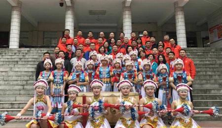 中南大学EMBA8班走进特殊教育学校