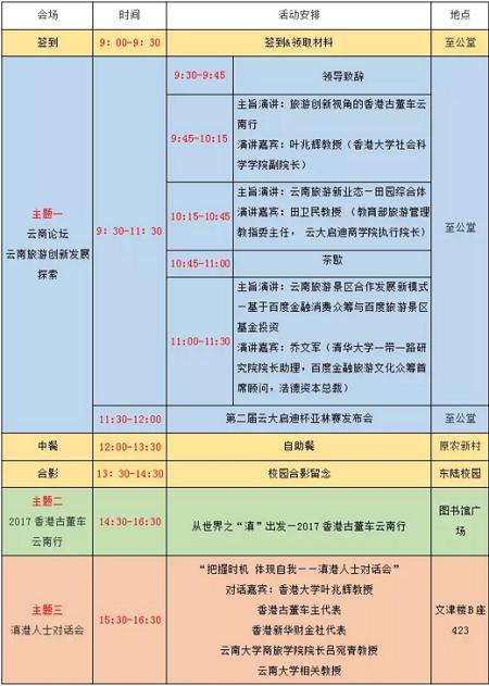 云南大学EMBA校友返校日