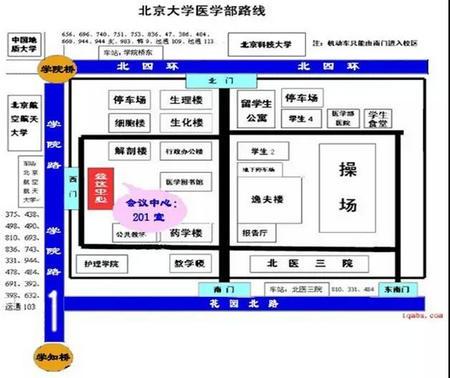 天津财经大学EMBA上课地点线路图
