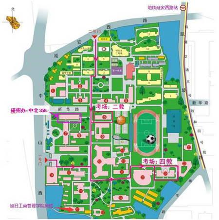 东华大学考场平面图