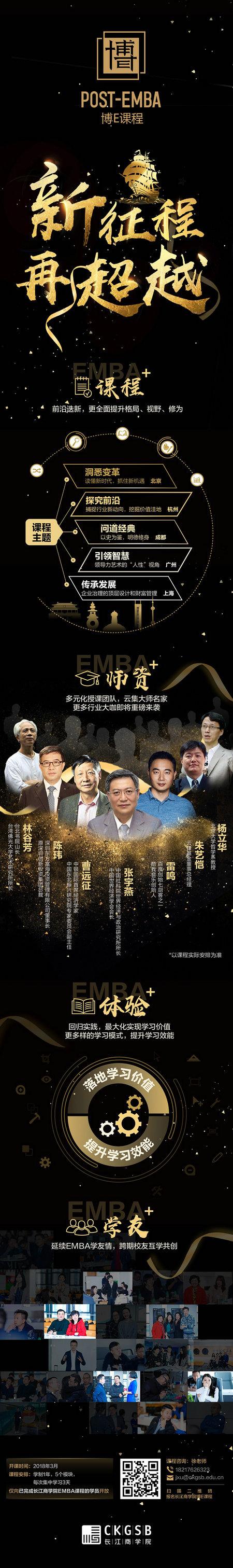 长江商学院EMBA2018博E课程