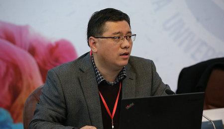 上海交通大学安泰经济与管理学院副院长董明做主题分享