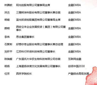 清华五道口金融EMBA与高管教育校友在两会